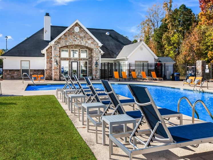 pool at apartments in fayetteville nc