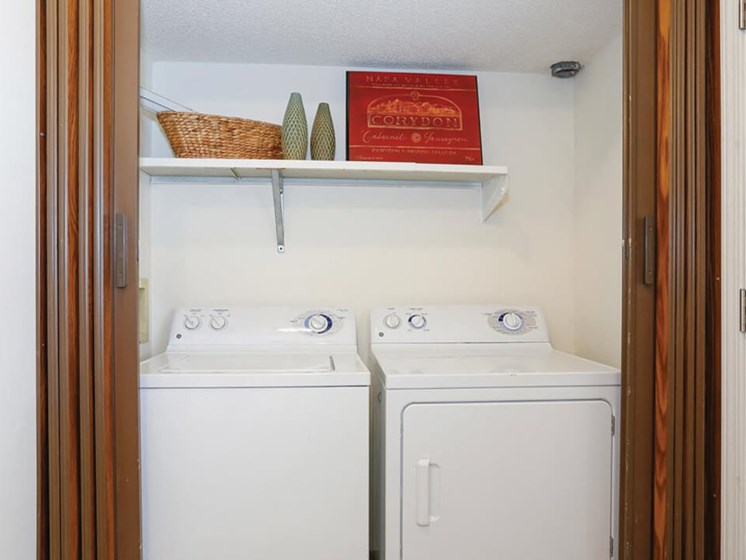 Apartments in Topeka with washer/dryer