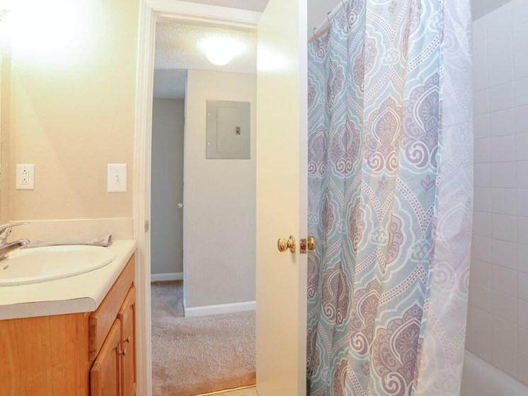 bathroom at Regency North Apartments