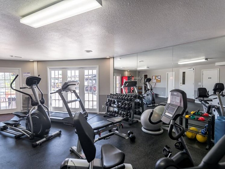 Fitness Center at Regency North Apartments