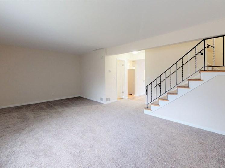 Townhome Living Room in St. Joseph, MI