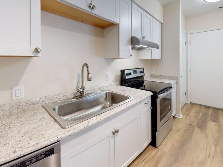 Modern Kitchen at Apartment