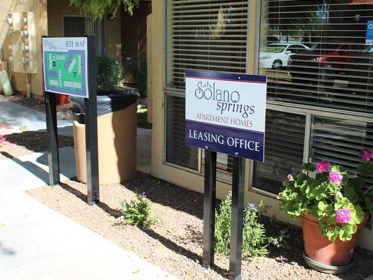 apartment leasing office in Tucson