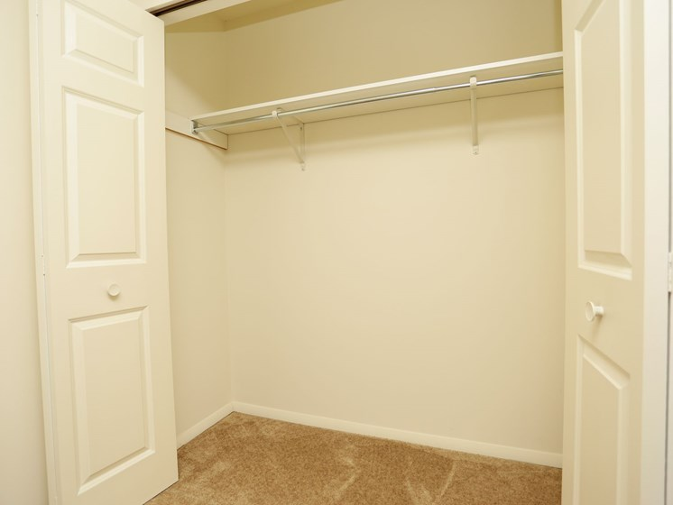 Apartments in South Bend Closet