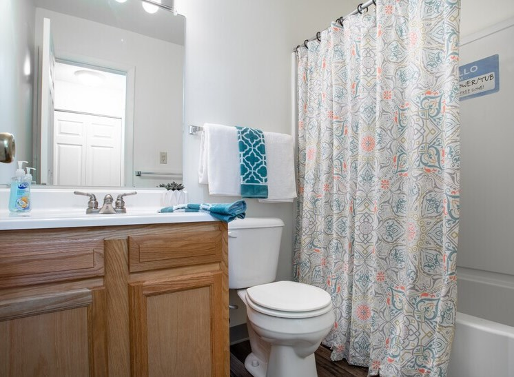 Apartments in South Bend Indiana Bathroom