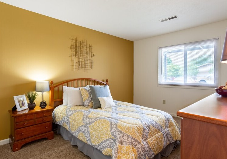 Apartments in South Bend Bedroom