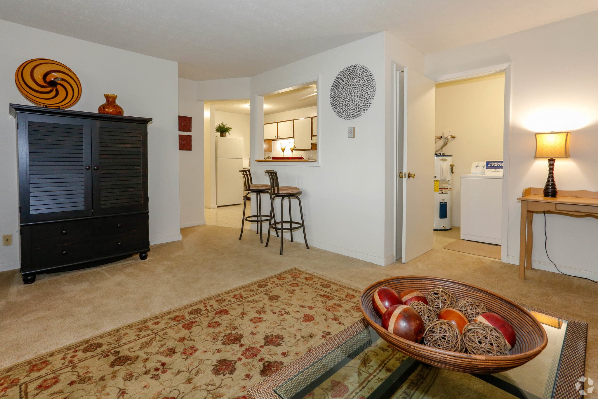 2 bedroom at Meadowrun Apartments in Fairborn, OH