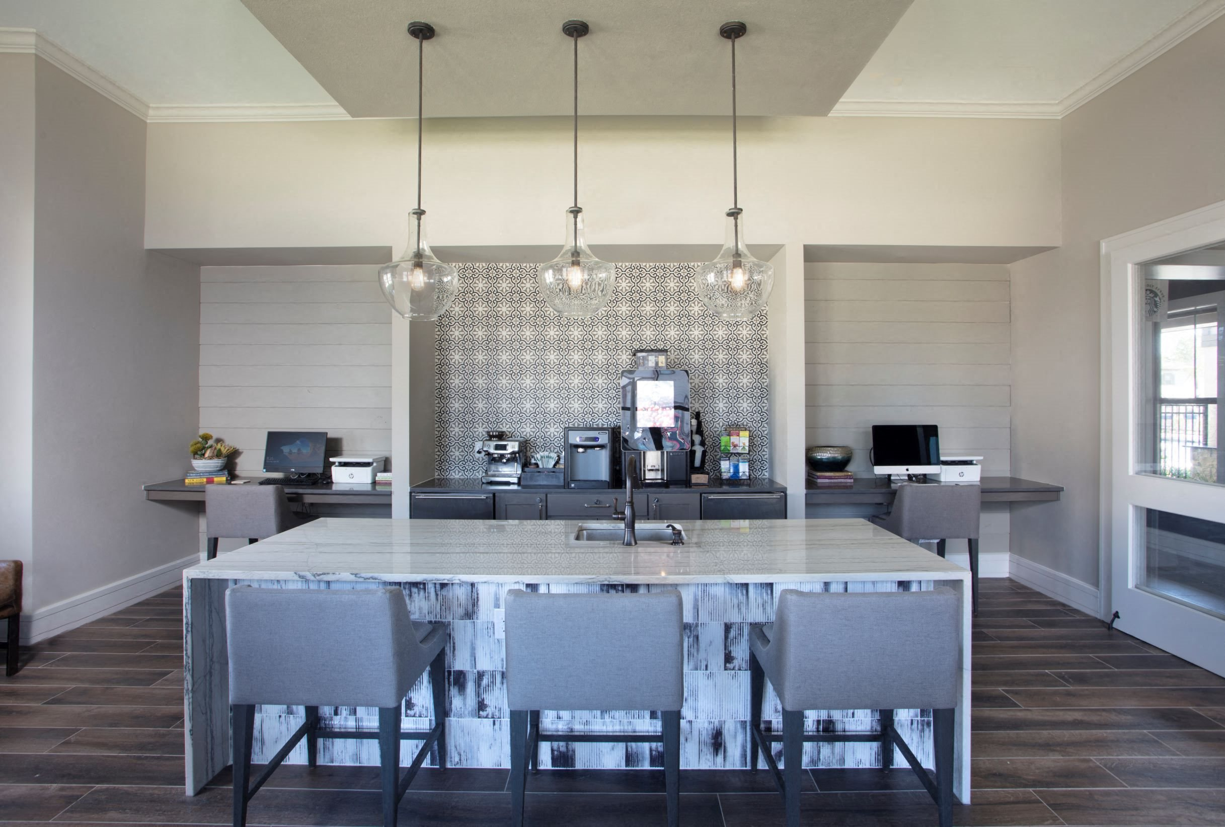 Clubhouse Kitchen at Legacy at 2020