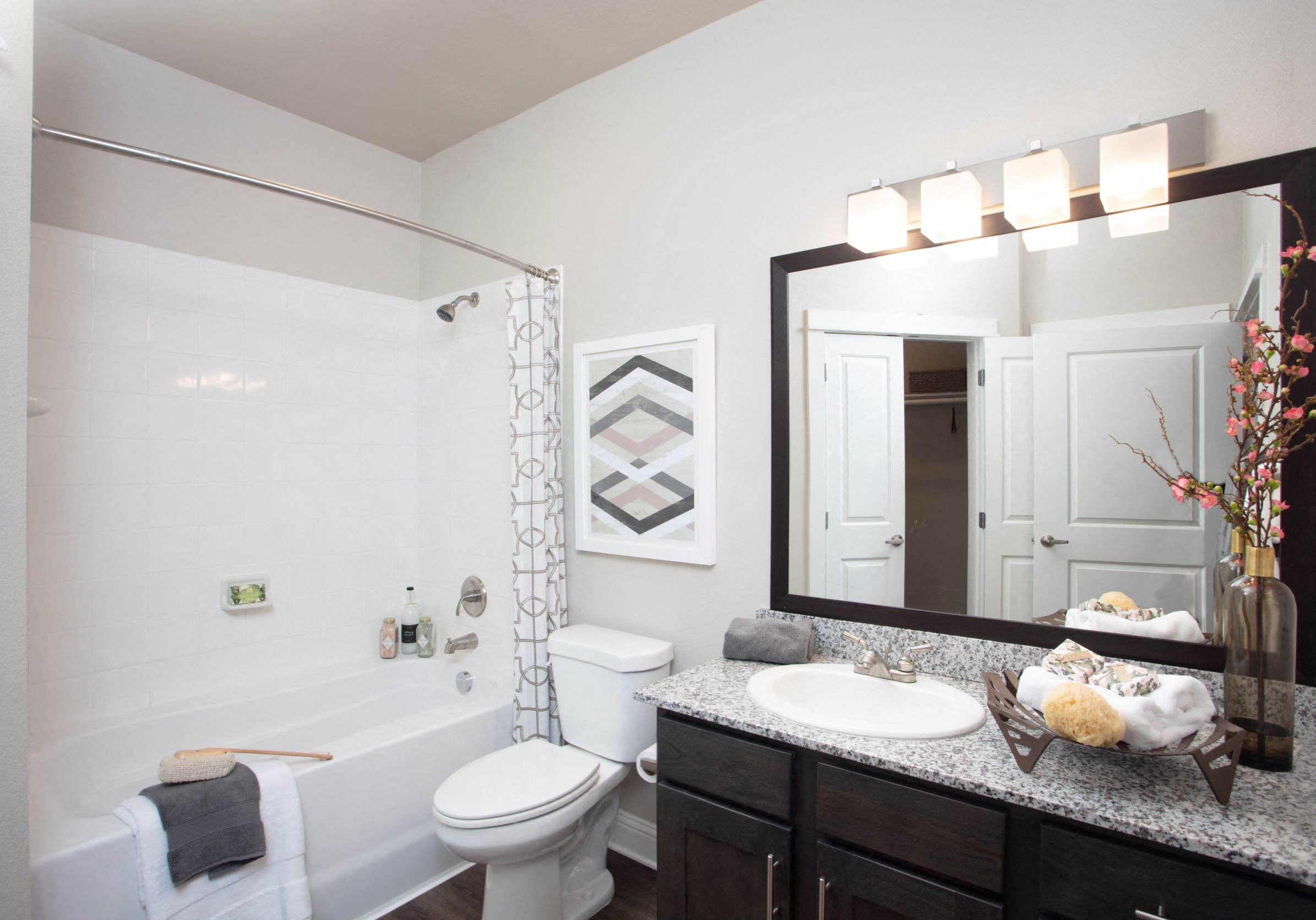 Bathroom at Legacy at 2020