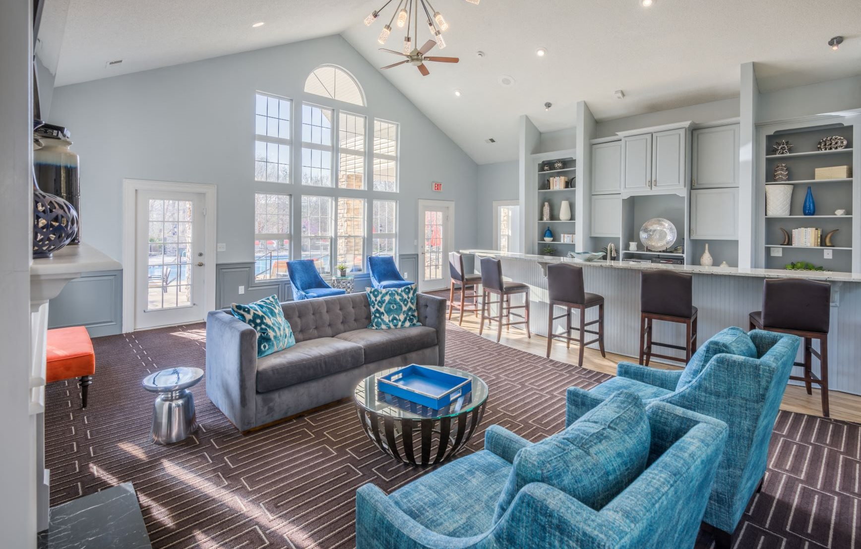 Waterford Place Apartments Greensboro Inviting Resident Lounge