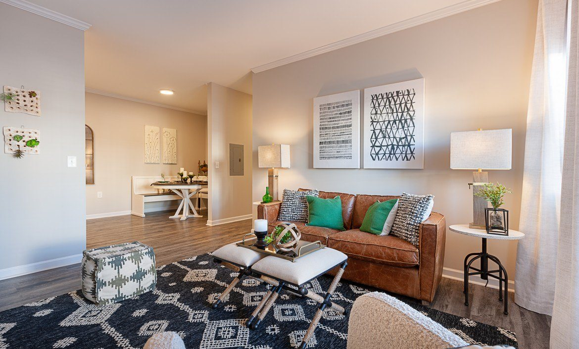 Open-concept 1, 2 and 3 bedroom apartment homes at The Summit on 401 in Fayetteville, NC