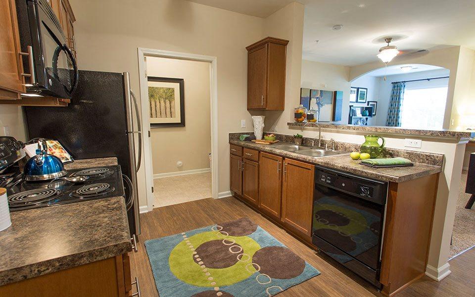 Kitchen at Hawthorne at Murrayville, Wilmington