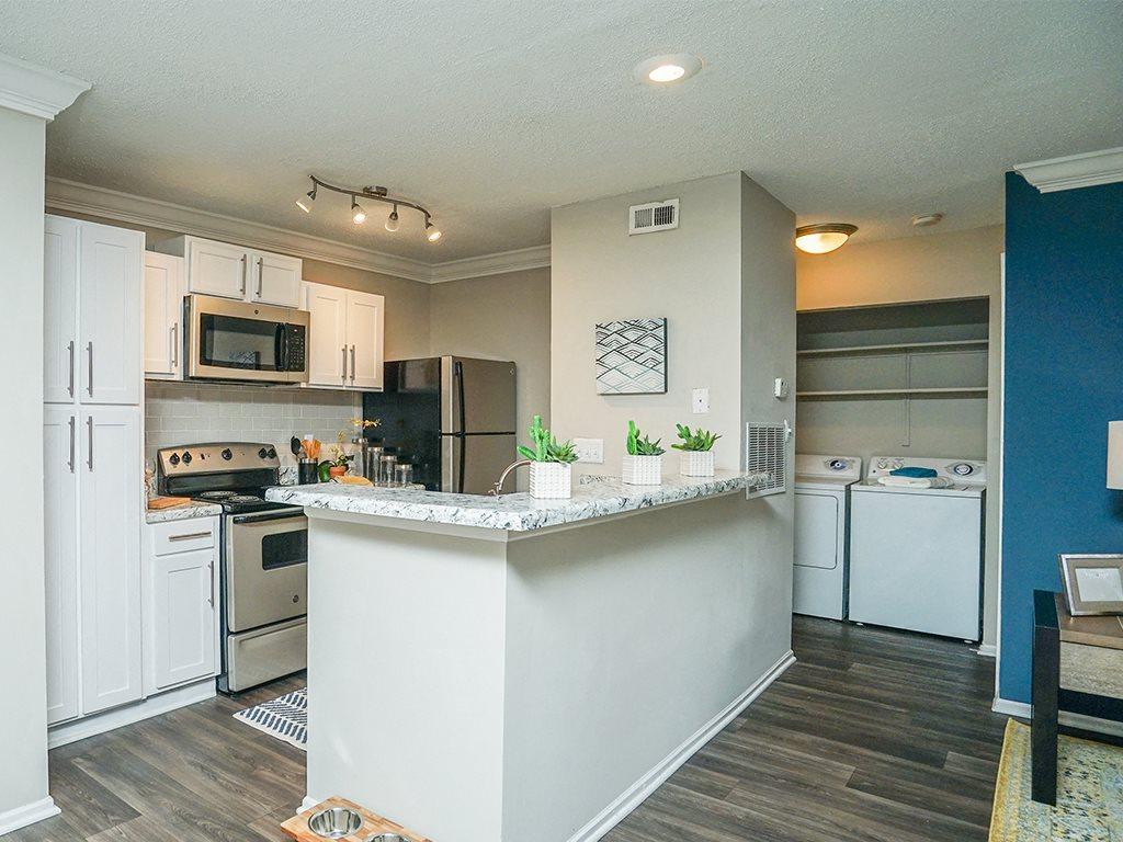 1700 Place Model Kitchen