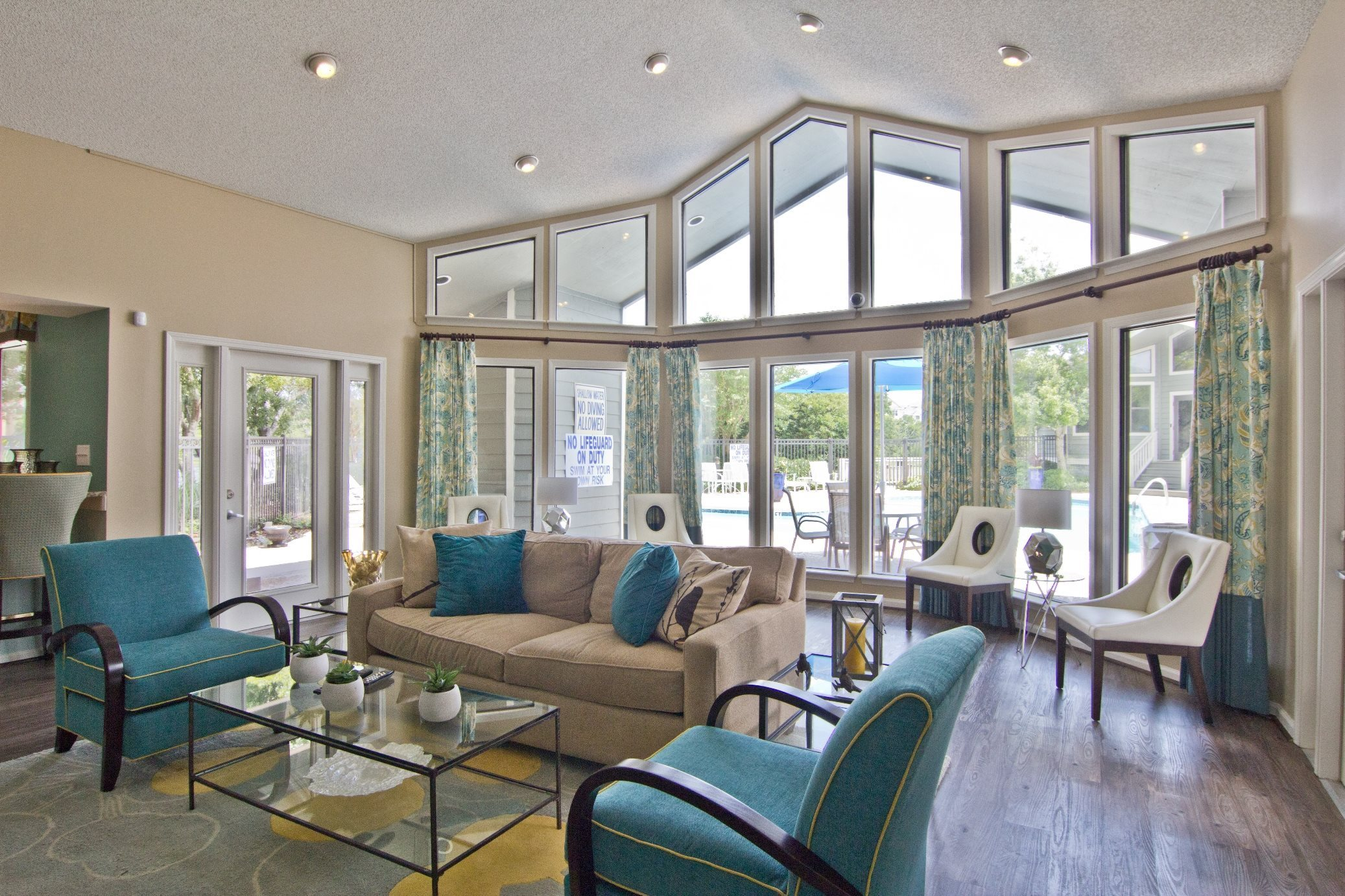 Clubhouse at Ashley River Apartments in Charleston, SC