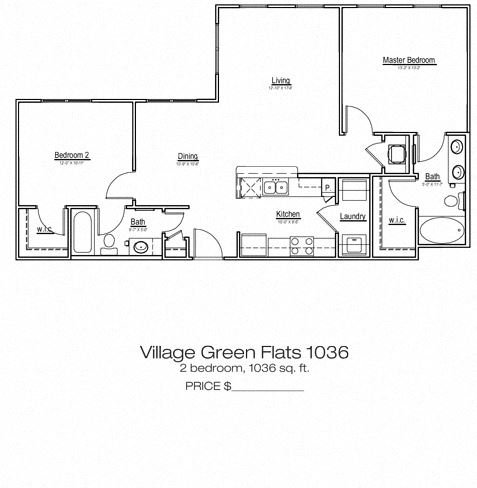 Village Green Flats 1036