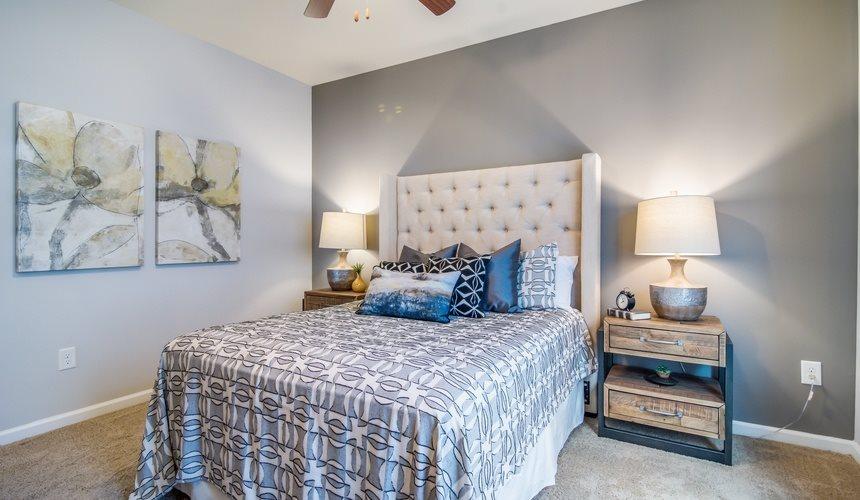 Model Bedroom at West End at Fayetteville in Fayetteville, NC