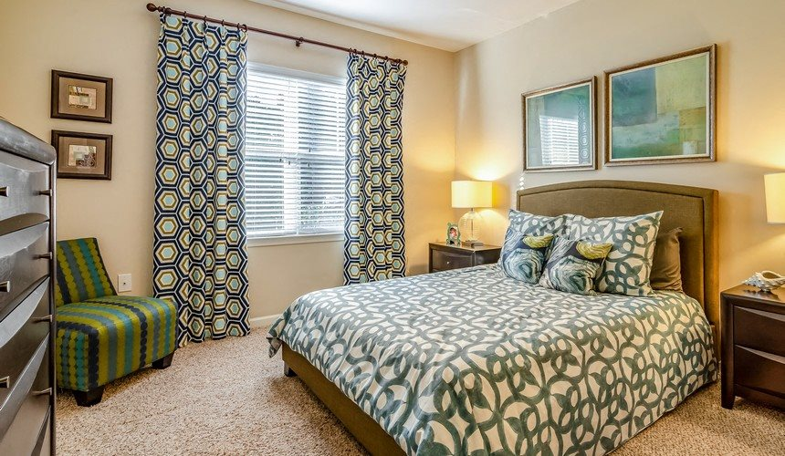 Model Bedroom at Hawthorne at Murrayville