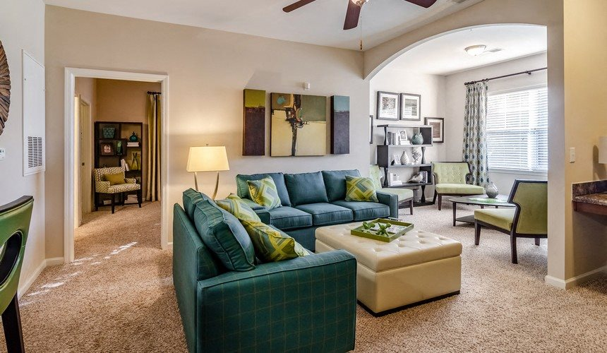 Living Room at Hawthorne at Murrayville