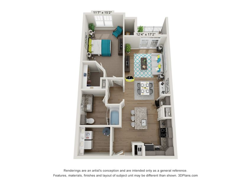 The Allure Floor Plan at Hawthorne at Pine Forest in Oak Island, NC 28465