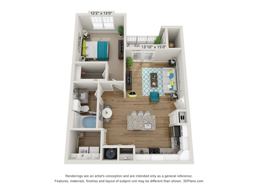The Avail Floor Plan at Hawthorne at Pine Forest in Oak Island, NC 28465