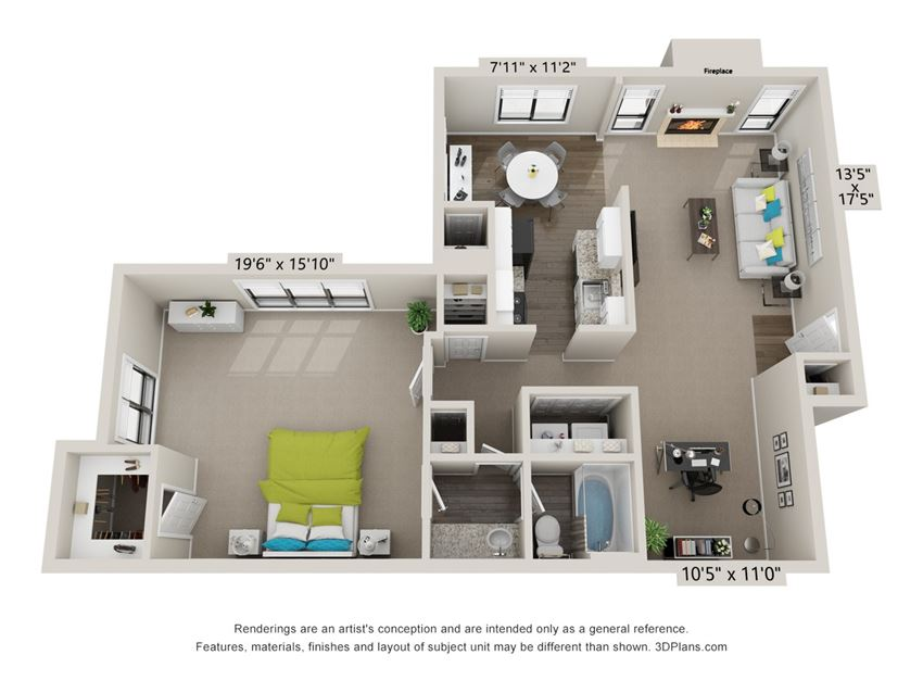 The Holcomb Floor Plan at The Avenues at Holcomb Bridge