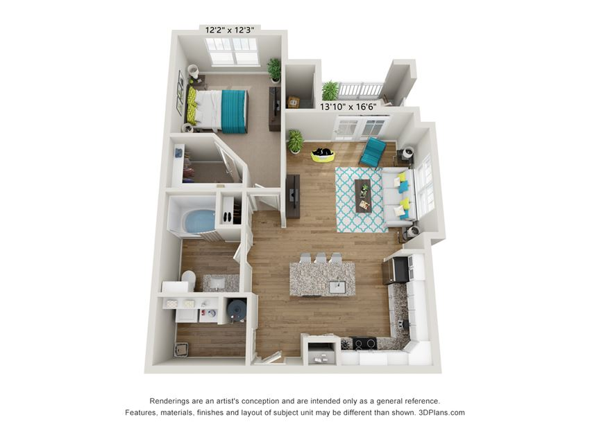 Avid Floor Plan at Hawthorne at Pine Forest in Oak Island, NC 28465