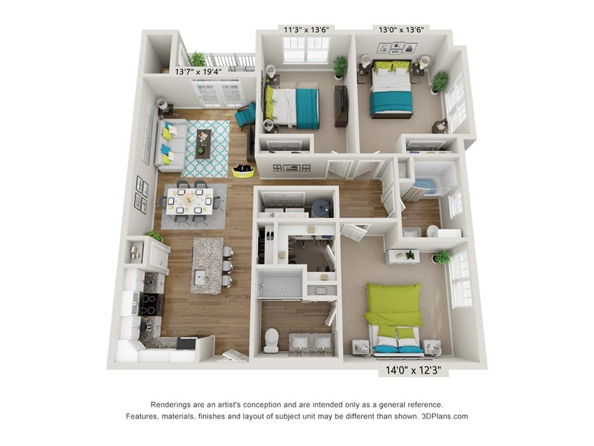 Clarity Floor Plan at Hawthorne at Pine Forest in Oak Island, NC 28465