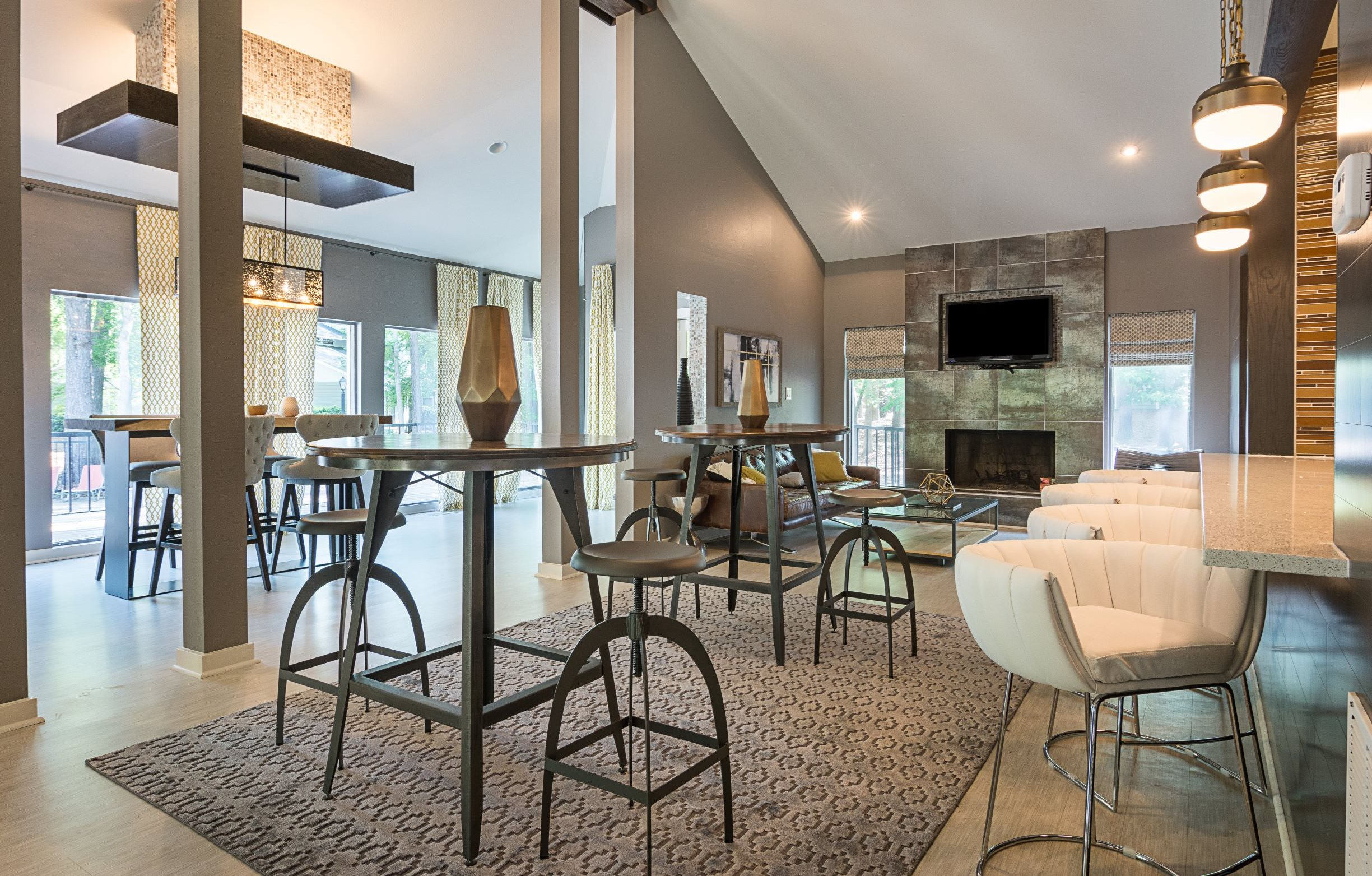 Luxury Clubhouse at The Avenues at Holcomb Bridge in Peach Tree Corners, GA