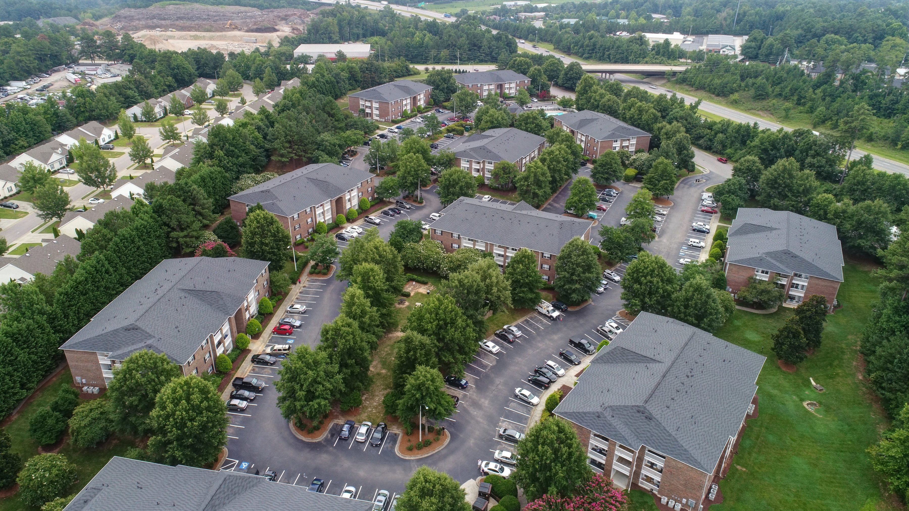 Aerial View at Autumn Pointe in Raleigh, NC