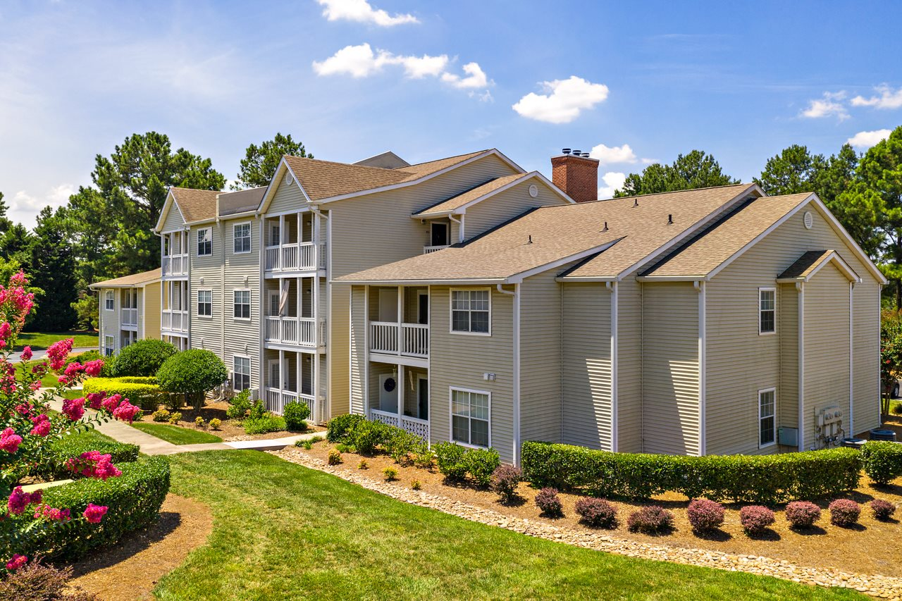 Residential Living Exterior at Avenues at Steele Creek Apartments