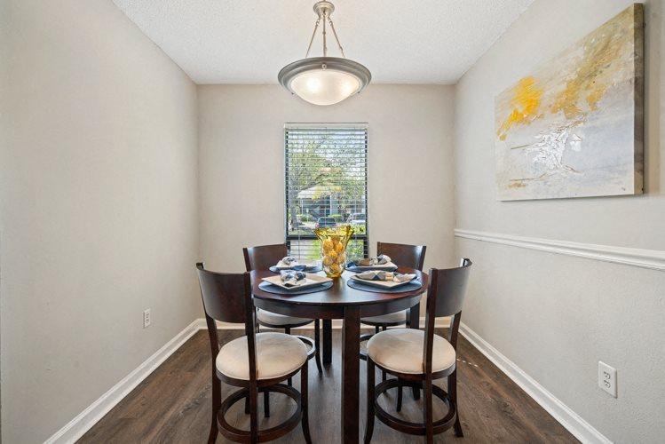 Dining Room at Ashley River Apartments