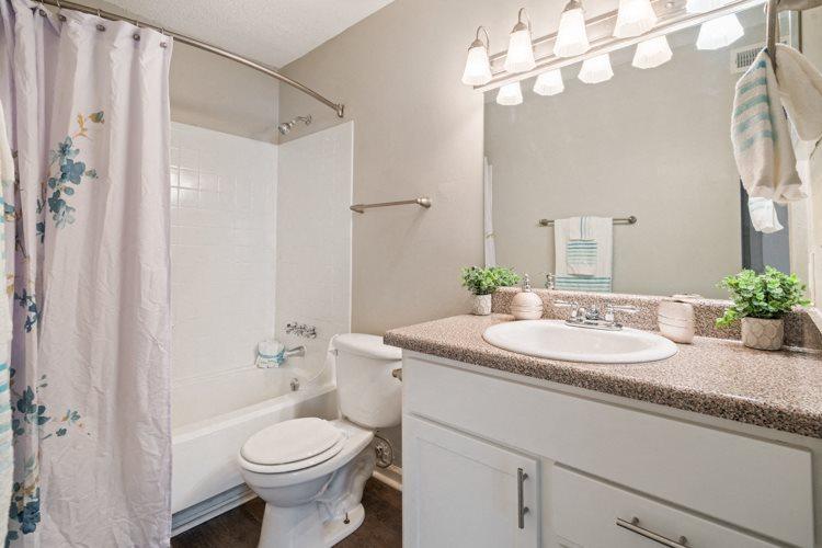 Bathroom at Ashley River Apartments