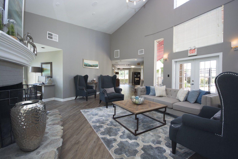 Resident Lounge at Axiom Apartments in Charlotte, North Carolina