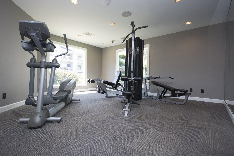 Fitness Center at Axiom Apartments in Charlotte, North Carolina