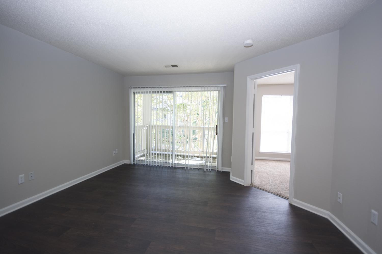 Spacious living room at Axiom Apartments in Charlotte, North Carolina