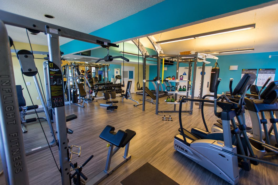 Fitness Center at Ashley River Apartments in Charleston, SC