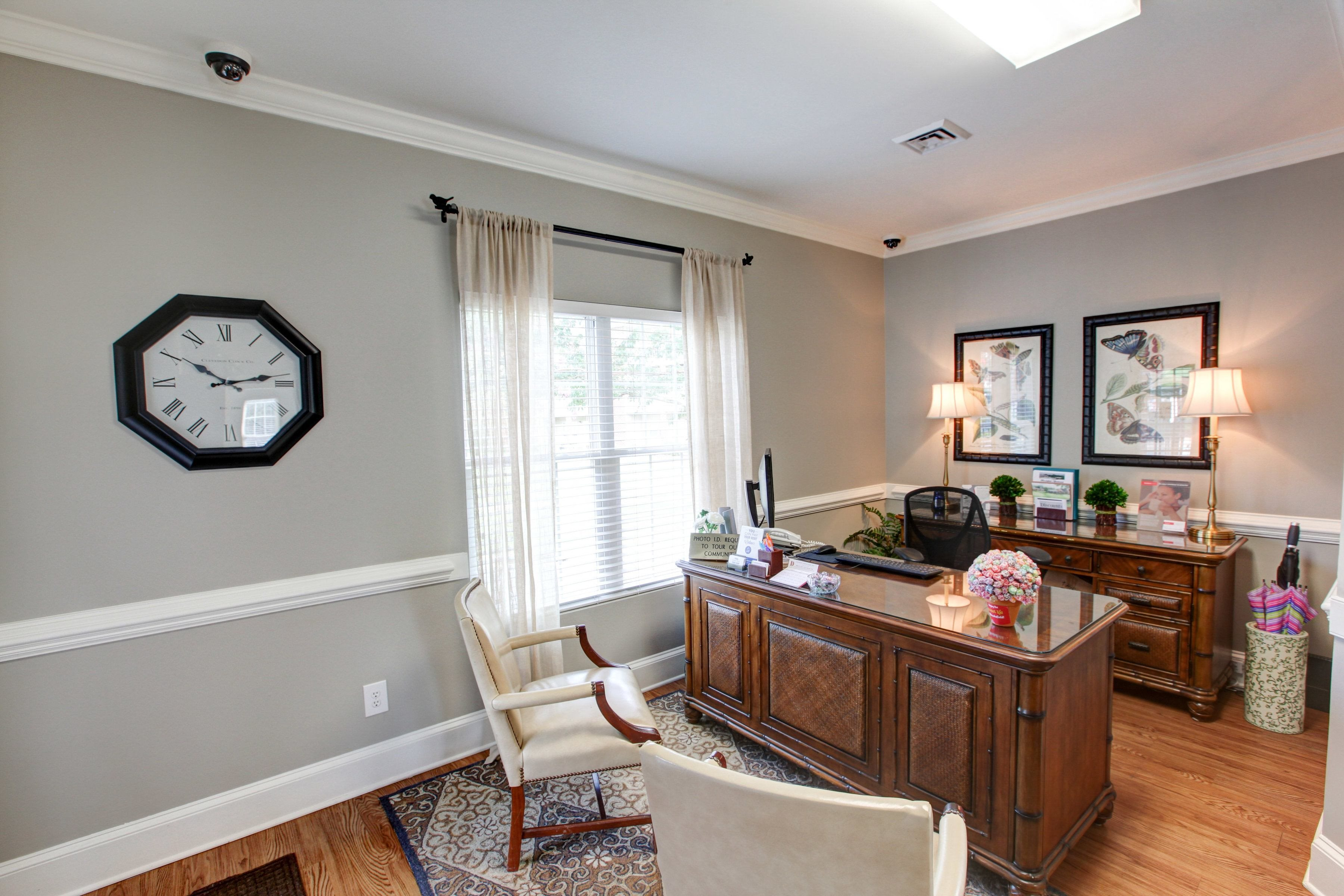 Leasing Office at Brookefield Apartment Homes in Raleigh, NC