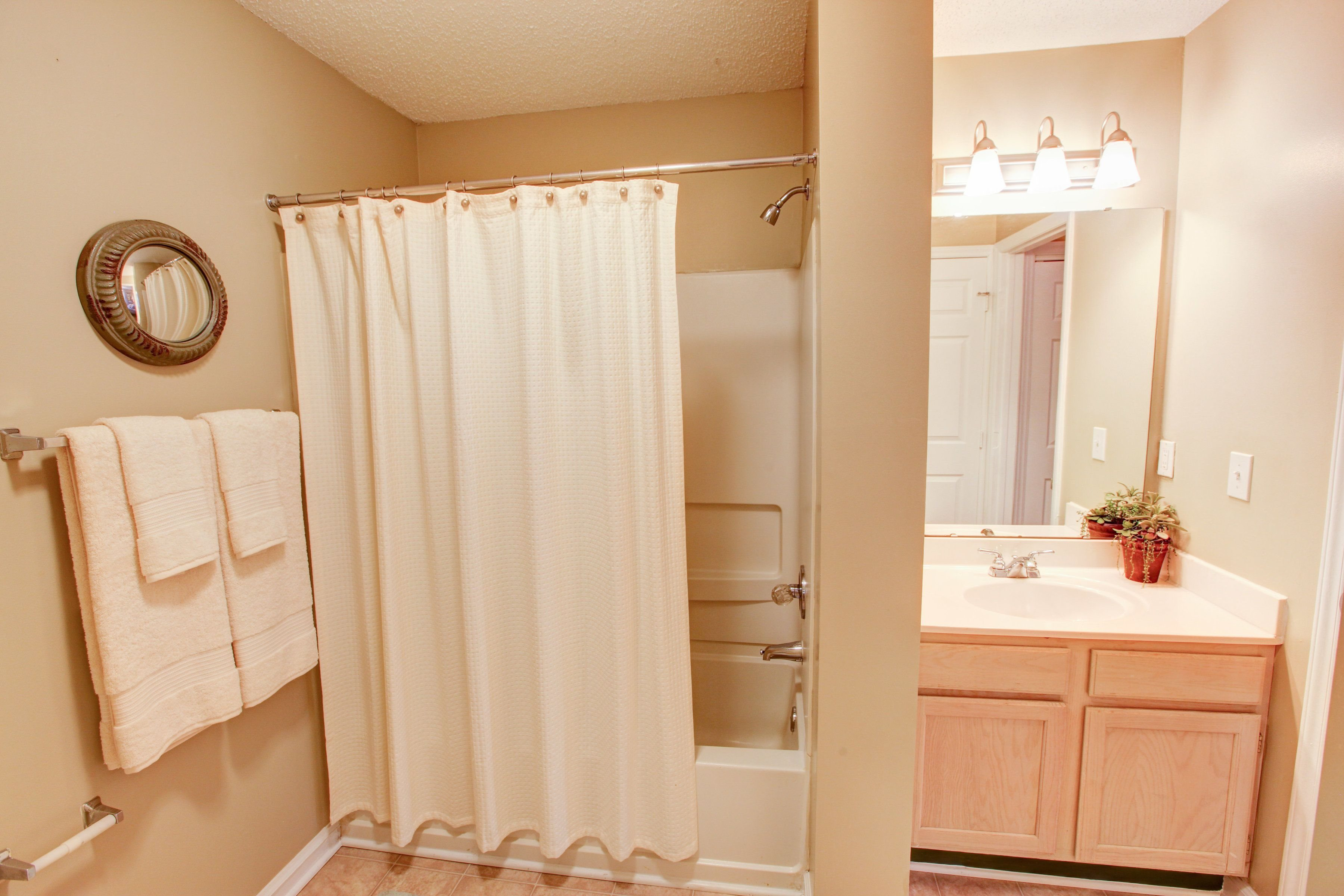 Bathroom at Brookefield Apartment Homes in Raleigh, NC