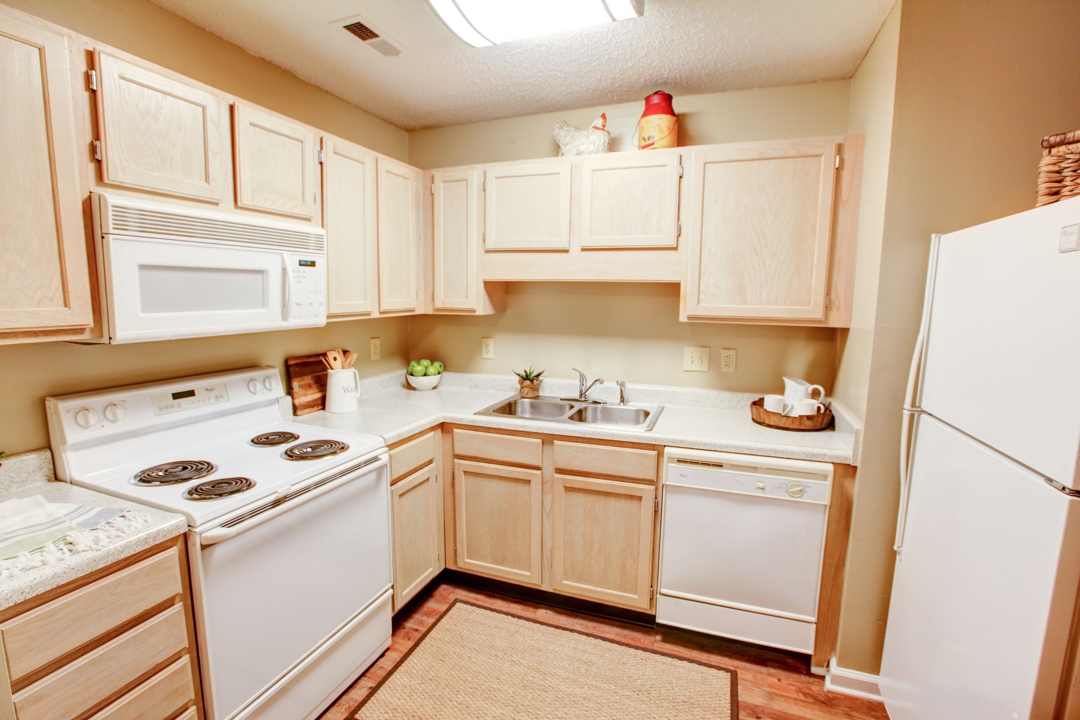 Kitchen at Brookefield Apartment Homes in Raleigh, NC