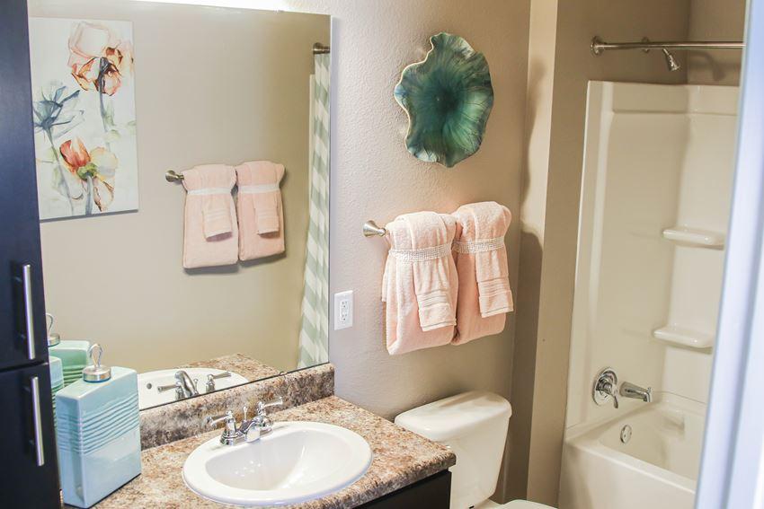 Bathroom at The Retreat at Juban in Denham Springs, LA