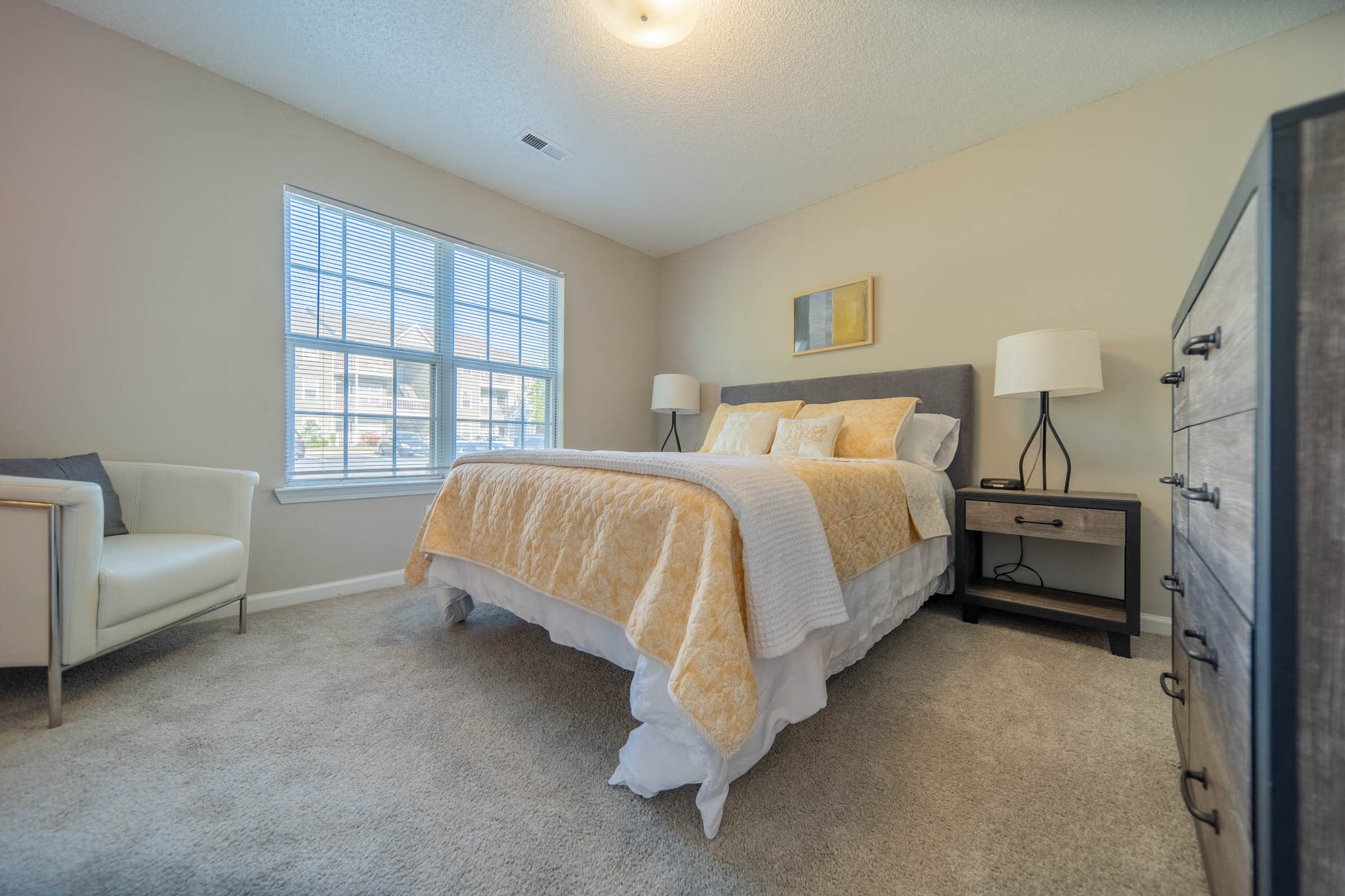 Spacious bedrooms at Mission Triangle Point