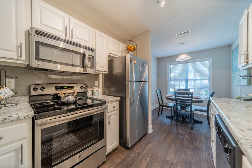 Become a chef in your beautifully designed kitchen at Haven at Research Triangle Park