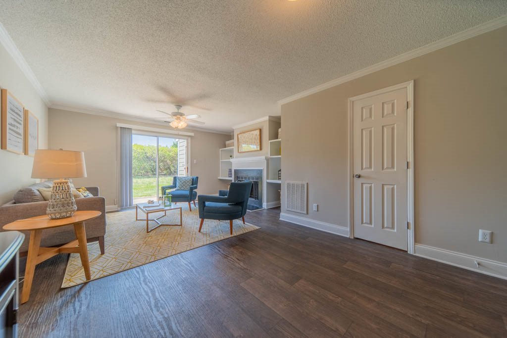 Open concept floor plans at Haven at RTP