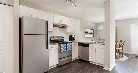 Beautifully designed kitchen inside your apartment home at The Reserves of Melbourne in Melbourne, FL