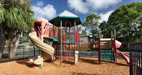 Playground at The Reserves of Melbourne Apartment Homes in Melbourne, FL