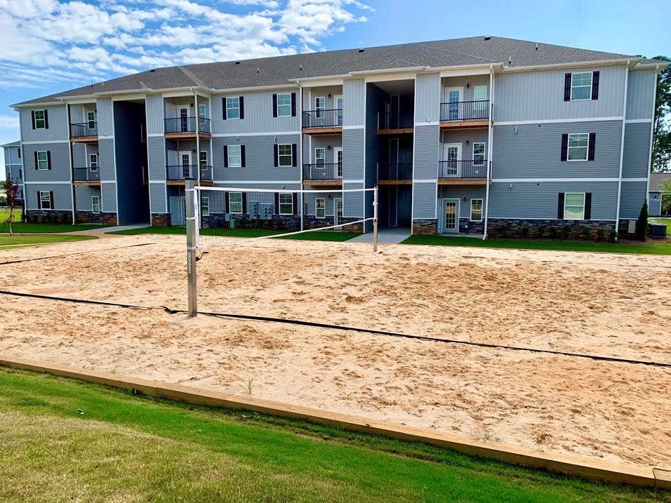 Sand Volleyball Court at The Springs in Boiling Springs, South Carolina