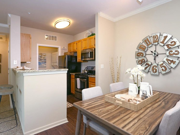 Two Bedroom Apartment Spacious Dining