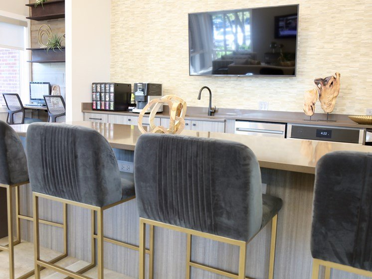 Clubhouse Bar with Media