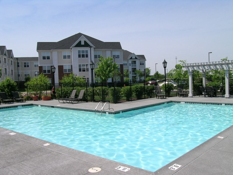 Pool with Sundeck