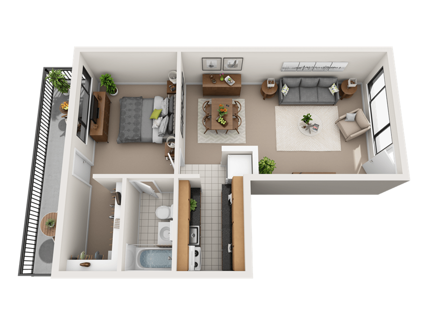 Monticello Capital Floor Plan